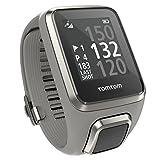 TomTom Golfer 2 GPS-Uhr (40,000 vorinstallierten Plätze weltweit, Automatische Schlagerkennung und Scorekarte, Ansicht des Grüns und Distanzen zum Grün, 24/7 Aktivitäts-Tracking)
