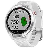 Garmin Unisex-Smartwatch Digital Akku One Size Weiß 32017153