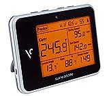 Voice Caddie Unisex– Erwachsene Swing Caddie LUNTER Monitor SC300 Tragbarer startenmonitor, SCHWARZ, One Size