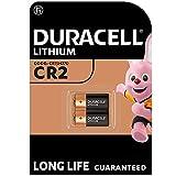 Duracell High Power Lithium CR2 Batterie 3V, 2er-Packung (CR15H270) entwickelt für die Verwendung in Sensoren, schlüssellosen Schlössern, Blitzlicht...