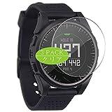 Vaxson 3 Stück Schutzfolie, kompatibel mit Bushnell Excel Golf GPS Smartwatch Hybrid Watch, Displayschutzfolie Bildschirmschutz Blasenfreies [nicht Panzerglas]