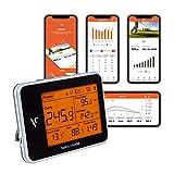 Voice Caddie Golf Swing Caddie SC300 Tragbarer Launch Monitor, Schwarz