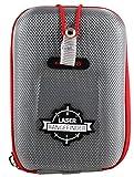 Navitech Grau Eva Hartschalenetui Fall/Schutz/Gehäuse Kompatibel Mit Dem Wearable4U Bushnell Tour V4 Patriot Pack Laser Golf Rangefinder