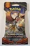 collect-it 1 Booster im Blister - SM3 - Nacht in Flammen - Deutsch - Pokemon
