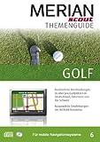 Merian scout Themenguide Nr. 06 CD-ROM: Golf für TomTom, Garmin