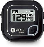 GolfBuddy Unisex-Adult VOICE2 Golf GPS, Schwarz, Einheitsgröße