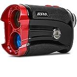 AOFAR GX-2S Golf Entfernungsmesser Neigung EIN/aus, Flag-Lock mit Vibration, 600 Yards Entfernungsmesser, 6X 25mm wasserdicht, Tragetasche, kostenlose...